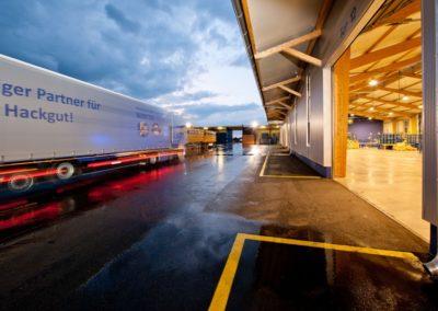 LED Projekt Logistik Winter