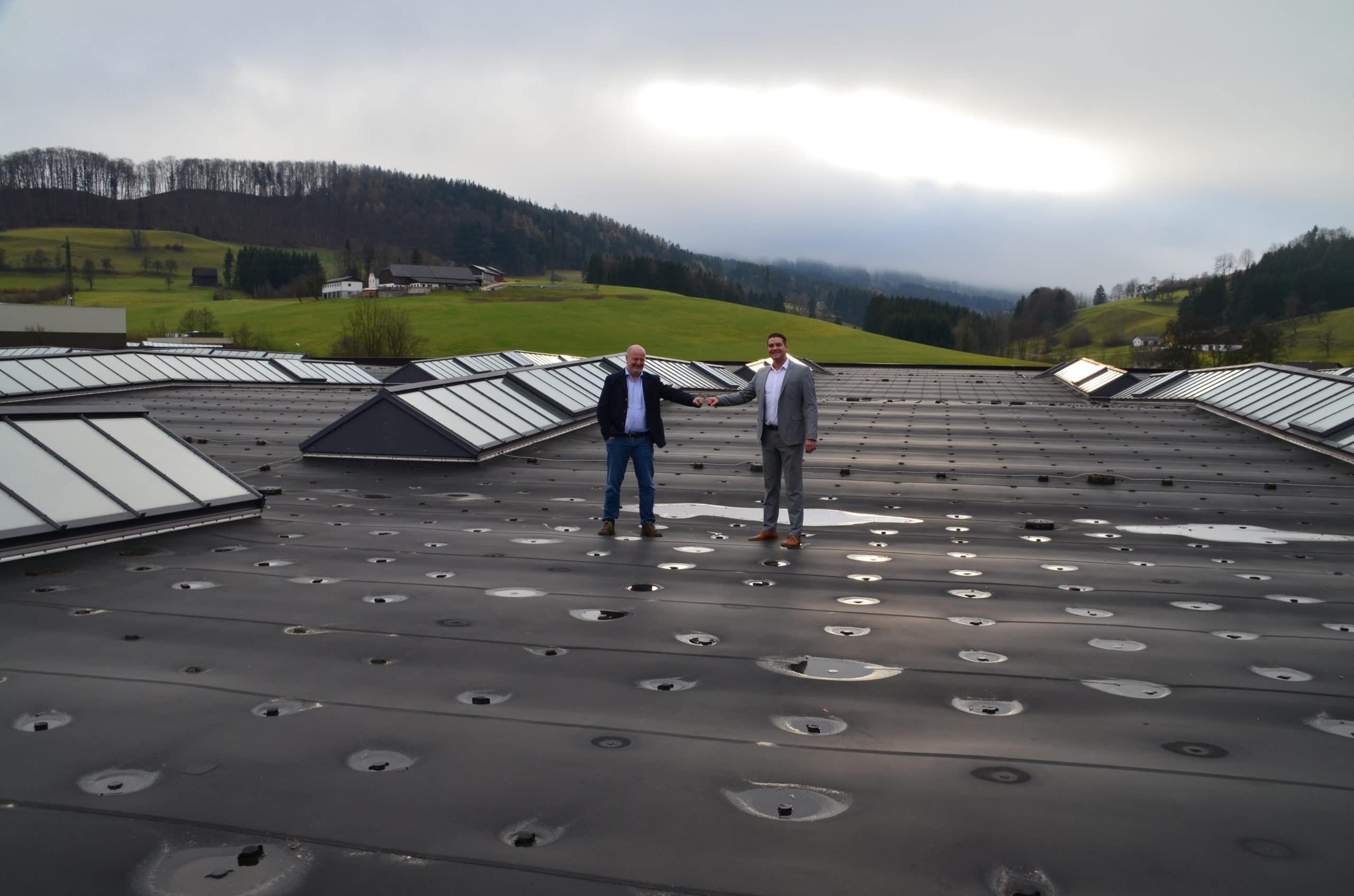 Größte Aufdach-Photovoltaik Niederösterreich