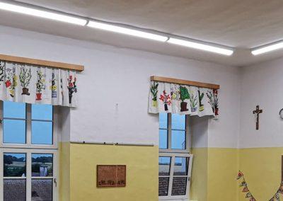 LED Umrüstung Volkschule Haag