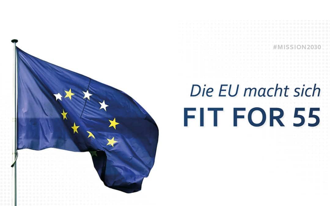 """Europas Weg zum Klimaziel mit """"Fit for 55"""""""